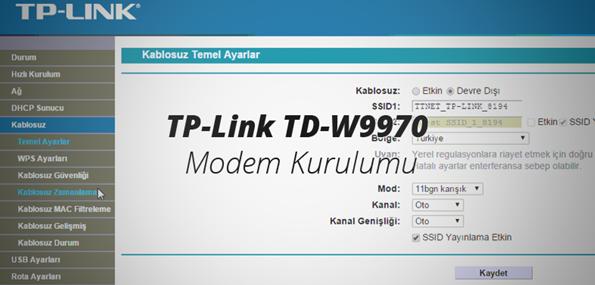 tp-link-kurulum